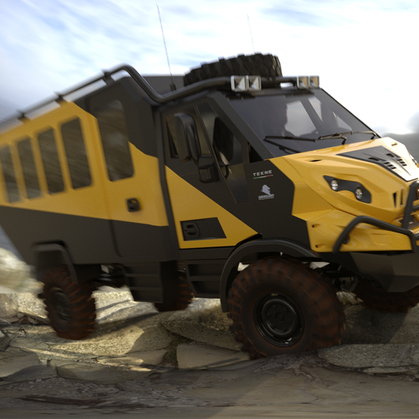 Graelion - Expedition Van per avventure offroad