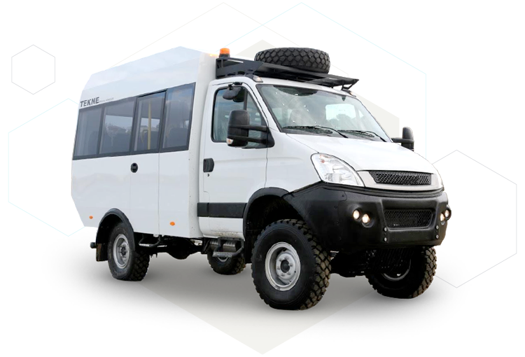 TEKNE Mine Bus on Iveco Daily
