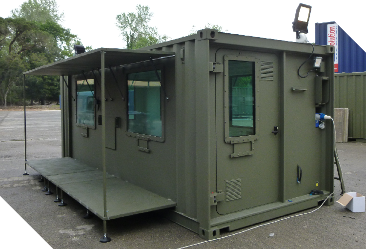 Armoured Shelter